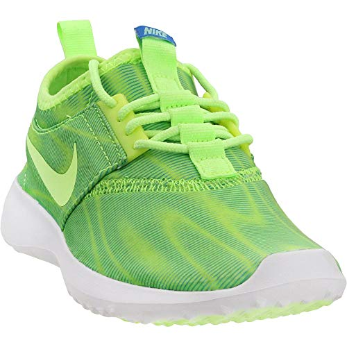 NIKE Women's Juvenate Print Ghost Green/Ghost Green/PHT Bl Casual Shoe 6 Women US ()