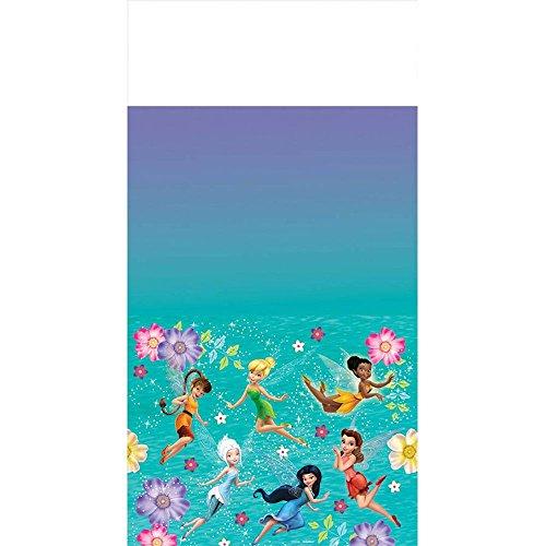 Amscan Tinkerbell Best Friend Fairies Plastic Tablecover 54