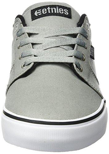 Etnies LS Black Barge Grey Skate Shoe q1xgrqwf