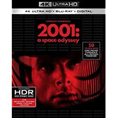 Stanley Kubrick's 2001: A Space Odyssey arrives on 4K Ultra HD Oct. 30 from Warner Bros.