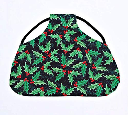 Twisted 2 Perfection Standard Size Chicken Saddles Hen Aprons (Holly Leaf) ()