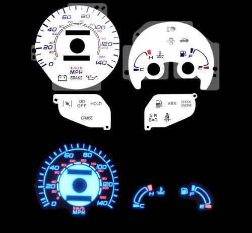 96 97 98 99 00 Hyundai Elantra w/o Tach White Glow Gauges