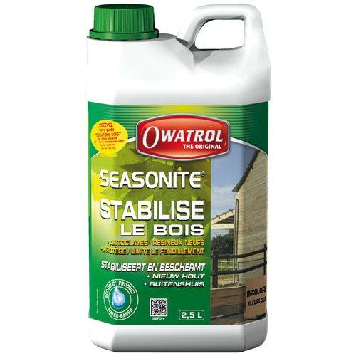 Owatrol Seasonite Protection d'attente bois tendres neufs et humides 2, 5 L 891