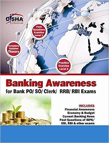 Buy Banking Awareness for SBI/IBPS Bank Clerk/PO/SO/RRB & RBI exams