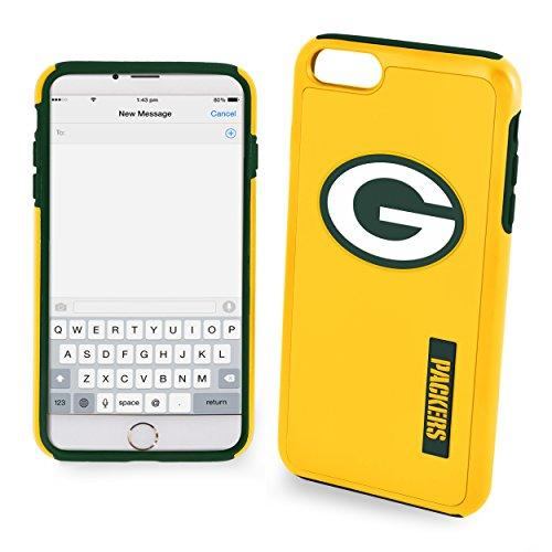 (FOCO Green Bay Packers Impact Dual Hybrid Ai7/8 Cover - TPU 4.7