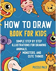 How To Draw Book For Kids: 3 in 1 Bundle Book With 300 Step By Step Illustrations For Ages 4 - 8
