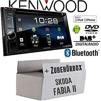 JVC DAB //USB//Aux Voiture radioset pour Skoda Fabia 2 /& Roomster 5j