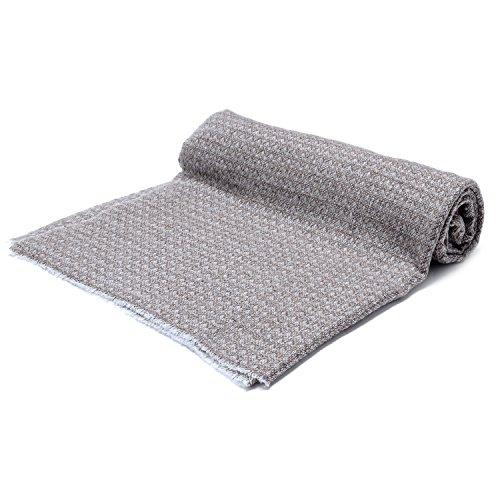 Cashmina House zigzag classic scarf | Cashmere Pashmina | 100% Authentic Hand-Combed Luxurious, Softest & Warmest Scarves | Beautifully Crafted & Stylish Finish by Cashmina House (Image #6)