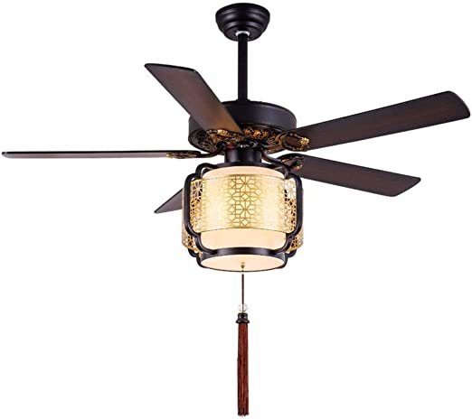 Ventiladores de techo con lámpara de la conversión de frecuencia ...