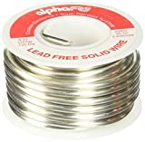 Alpha Fry AM23955 1/2-Pound 95/5 Spool Cookson Elect Lead-Free Solid Wire Solder