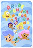 Nickelodeon Bubble Guppies Ultra Soft Toddler Blanket, Blue, 30 x 43 (Discontinued by Manufacturer)