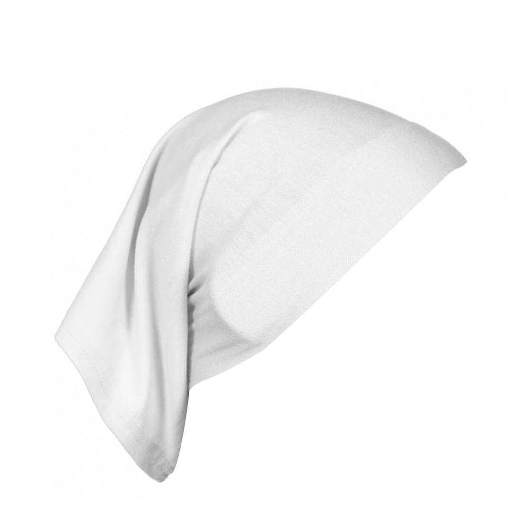 Womens Muslim Islamic Solid Cotton Hijab Cap Head Under Scarf Shawl Turban