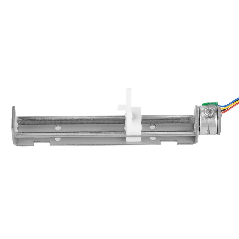 DC 12V Stepper Motor with Linear Screw Nut Slider for DIY Engraving Machine. Step Angle Stepper Motor Screw