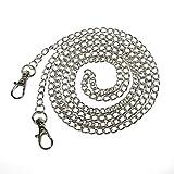53'' Silver Handbag Chain - Crossbody Evening Bag Strap - Silver Chain For Bride or Prom Clutch Bag