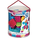 Battat 50-Piece Bristle Block Bucket