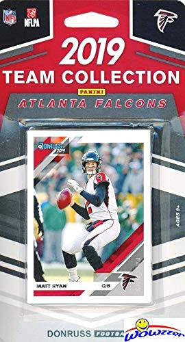 Atlanta Falcons 2019 Donruss NFL Football Limited Edition 11 Card Complete Factory Sealed Team Set with Matt Ryan, Mohamed Sanu, Michael Vick & Many More Stars & Rookies! WOWZZER