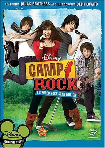 Camp Rock (Extended Rock Star Edition) Demi Lovato Joe Jonas Kevin Jonas Nick Jonas
