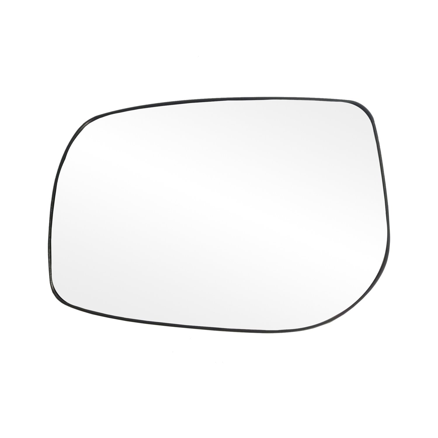 Fit System 88226 Toyota Corolla/Matrix Left Side Power Replacement Mirror Glass with Backing Plate