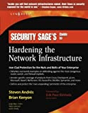 img - for Security Sage's Guide to Hardening the Network Infrastructure 1st edition by Erik Pace Birkholz, Brian Kenyon, Steven Andr s (2004) Paperback book / textbook / text book