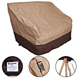 Canyon Creek Cabinets Furinho Bush - Waterproof All-Seasons Outdoor Loveseat Wicker Chairs Cover Furniture Protection YRS 1035