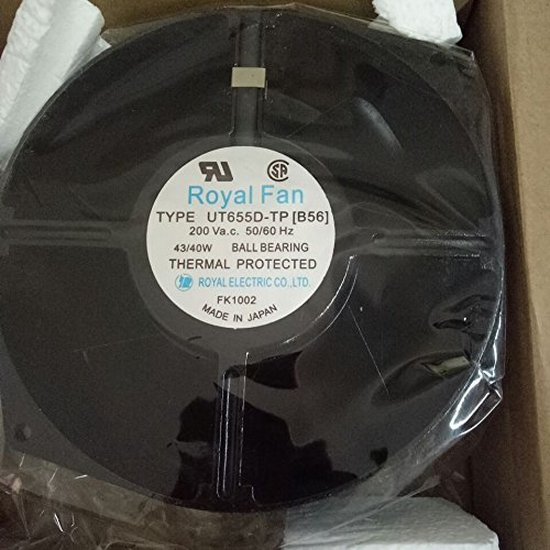 ROYALl FAN UT655D-TP [B56] axial flow cooling fan 0.24/0.26A(A)150×55mm by ROYALl FAN (Image #1)