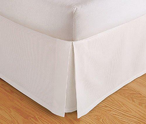 Genuine 600 TC Egyptian Cotton Finest Yarn 1 Piece Split Corner Bed Skirt 17