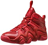 adidas Performance Men's Crazy 8 Basketball Shoe, Scarlet/Ray Red University Red, 9 M US