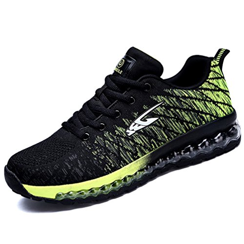 negro verde botas y caño bajo Unisex adulto de LFEU BHqwRY