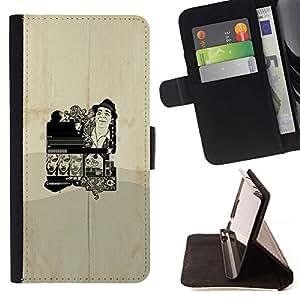 Momo Phone Case / Flip Funda de Cuero Case Cover - Cartel del vintage;;;;;;;; - Sony Xperia Z3 D6603