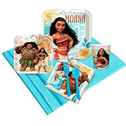 Disney Moana Party Supplies Party Pack (16)