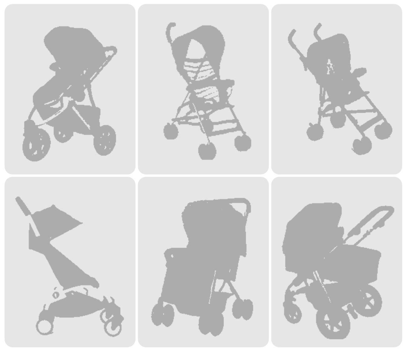 Sekey Moskitonetz f/ür Kinderwagen universal Insektenschutz Reisebett Babywagen M/ückennetz Schutz vor Moskito Wei/ß.