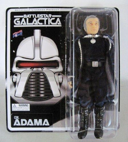 Battlestar Galactica Commander Adama Mego (style) Figure