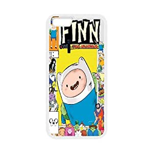 """Qxhu Jake and Finn Adventure Time Hard Plastic Cover Case for Iphone6 Plus 5.5"""""""