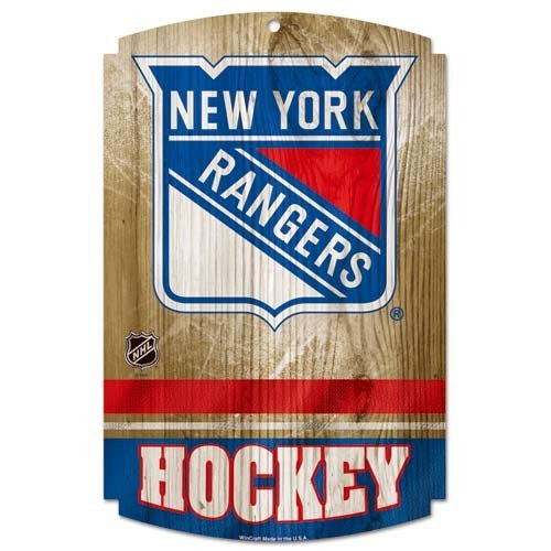 WinCraft NHL New York Rangers 73413091 Wood Sign, 11