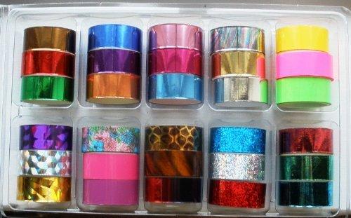 Amazon Nail Art Foil Kit Professional Kit Nail Art