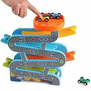 MYTHMISS Car Racer Track Play...