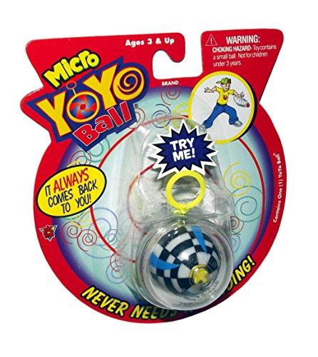 Micro Yo Yo Ball-Assorted (Includes 1; styles (Yoyo Ball)
