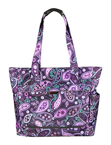 ricardo-beverly-hills-mar-vista-18-inch-shopper-purple-paisley-one-size