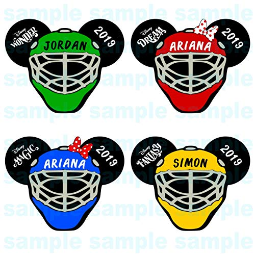 Hockey Mask Disney Inspired Door Magnet | Disney