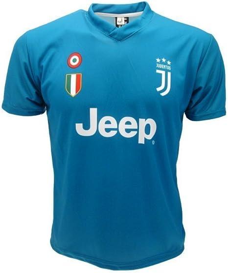 Juventus Camiseta de Fútbol Gigi Buffon 1 Azul Temporada 2017-2018 Replica Oficial con Licencia - Todos Los Tamaños NIÑO y Adulto (2 Anos): Amazon.es: Deportes y aire libre
