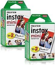 Filme Instax Mini Instantâneo Fujifilm - 40 Fotos