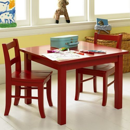 Groovy Amazon Com Pottery Barn Kids My First Table Chairs Spiritservingveterans Wood Chair Design Ideas Spiritservingveteransorg