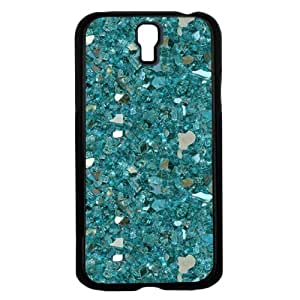 Blue Crystals and Gemstones Hard Snap on Phone Case (Galaxy s4 IV)