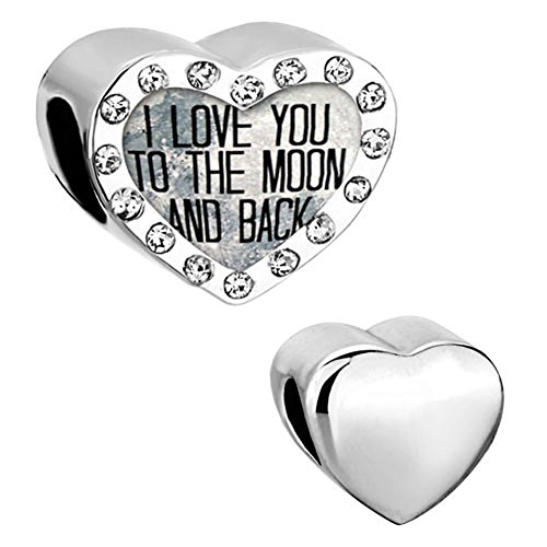 CharmSStory Heart Crystal Birthstone Bracelets