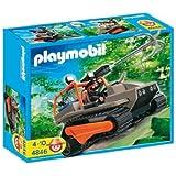 Playmobil - 4846 - Jeu de construction - Véhicule à chenille et brigand