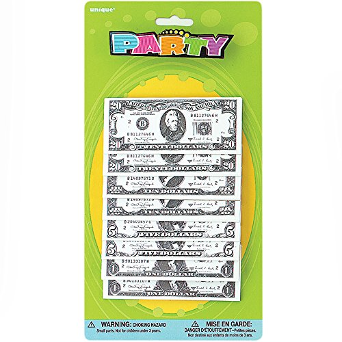 Mini Money Pad Party Favors, 8ct