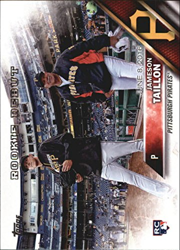 [2016 TOPPS UPDATE #US157 JAMESON TAILLON RD] (Pirate Cost)