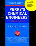 Perry's Chemical Engineers' Handbook 8/E Section 18:Liquid-Solid Operations and Equipment