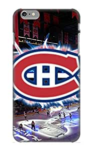 Case For Iphone 6 Plus Tpu Phone Case Cover(Montreal Canadiens) For Thanksgiving Day's Gift