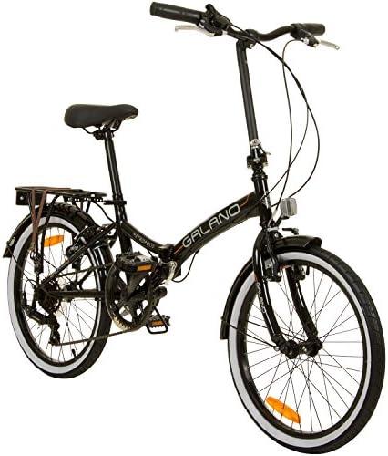Bicicleta plegable de 51 cm Metropolis de Galano para camping ...